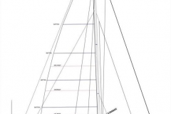 C37 Full main w headsails